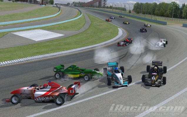Algo que debo evitar en iRacing: incidentes!